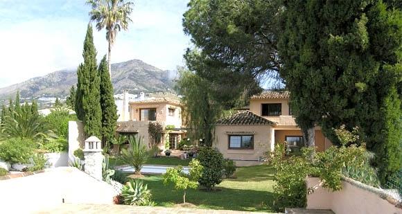 costa adeje fantastisk villa til leje