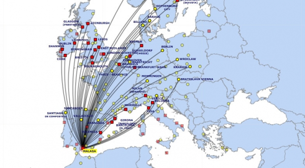 billig flybillet spanien